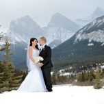 Ashley and Ryan: Winter Wedding Magic At Canmore's Silvertip Golf Resort