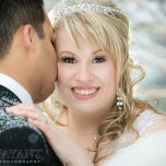 Nicole & Zak: A Fairmont Banff Springs Winter Wonderland Wedding