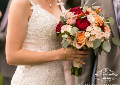 Calgary Wedding Planner Creative Weddings Planning & Decor Bridal Bouquet Rocking R Guest Ranch Wedding Edward Ross Photography 589