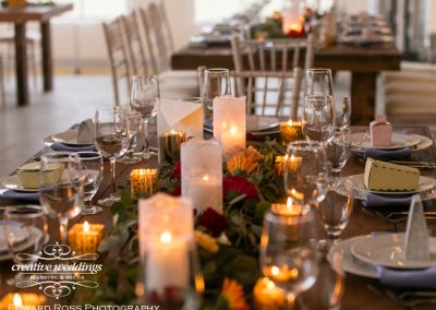 Calgary Wedding Planner Creative Weddings Planning & Decor Greenery Garland Rocking R Guest Ranch Wedding Edward Ross Photography 589