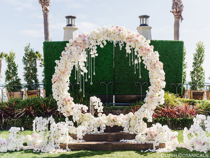 Wedding Floral Moongate by Blush Bontanicals