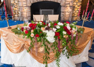 Luxurious Sweetheart Table At Lake Louise For Creative Weddings Blog Wedding Trends For 2018