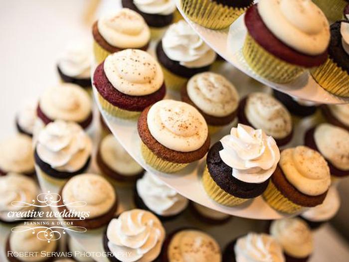 Banff Wedding Planner and Designer - Creative Weddings Planning & Decor; Rimrock Resort Wedding, Banff Real Wedding, Gold Candelabras, Elegant Reception, ivory and gold; Banff Wedding Planning; Cake Creations