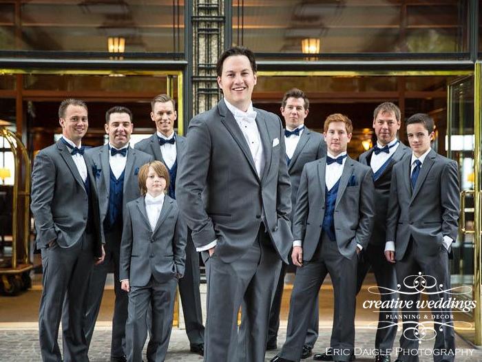 Banff Wedding Planning, Creative Weddings Planning & Decor Groom Getting Ready Rimrock Resort Wedding Eric Daigle Photography