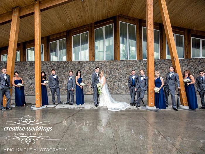 Banff Wedding Planner Creative Weddings Planning & Decor Rimrock Resort Wedding Banff Real Wedding Eric Daigle Photograhpy