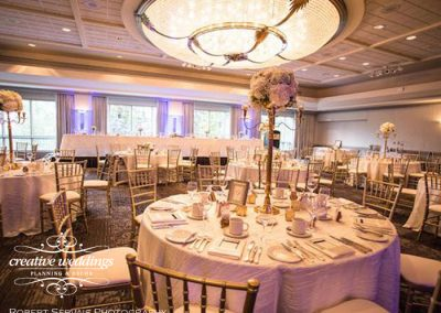 Banff Wedding Planner and Designer - Creative Weddings Planning & Decor; Rimrock Resort Wedding, Banff Real Wedding, Gold Candelabras, Elegant Reception, ivory and gold; Banff Wedding Planning