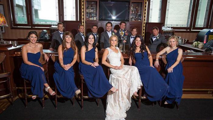 Real Wedding: Jessica and Paul – Classic Elegance At Banff's Rimrock Resort