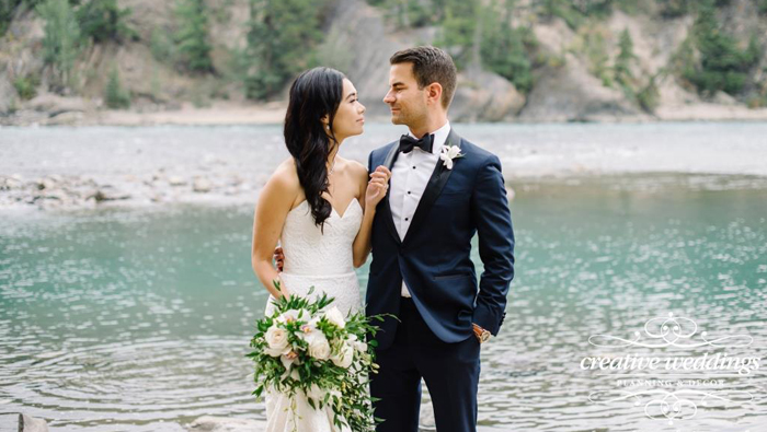 Real Wedding: Jenn & Stuart's Mountain Wedding At Banff's Rimrock Resort
