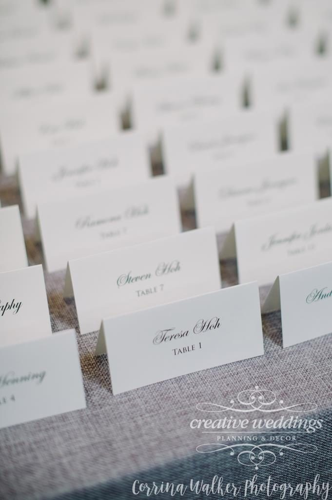 Banff Wedding Planner Creative Weddings Planning and Decor Wedding Stationery Placecards Lovesky Designs Inc Corrina Walker Photography