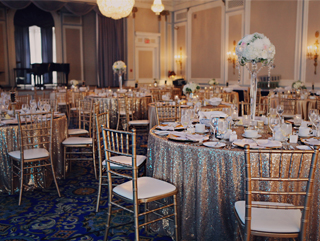 Calgary and Banff Wedding Decor Creative Weddings Planning and Decor Wedding Designer Gold Glitz Decor