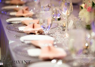 Banff Calgary Wedding Planner Fairmont Banff Springs Wedding silver blush pink winter wedding 563