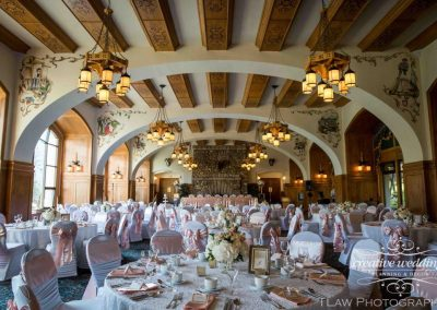 Banff Lake Louise Wedding Planner Fairmont Chateau Lake Louise Wedding Victoria Ballroom Creative Weddings Banff Bride TLAW Photography 450
