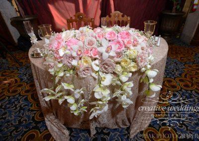 Banff Wedding Florist Banff Springs Wedding Sweetheart Table Banff Bride 251