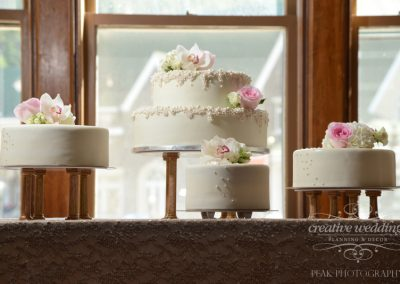 Banff Wedding Planner Banff Springs Wedding Banff Bride Wedding Cake Peak Photography 249
