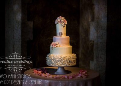 Banff Wedding Planner Banff Springs Wedding Creative Weddings Planning and Decor Whippt Blush Wedding Cake Two Mann Studios 637