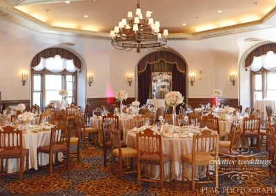 Banff Wedding Planner Florist Banff Springs Wedding Alhambra Room champagne Banff Bride Peak Photography 258