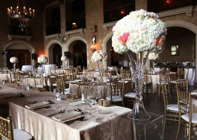 Banff Wedding Planner Florist Banff Springs Wedding champagne gold and blush Banff Bride 1234