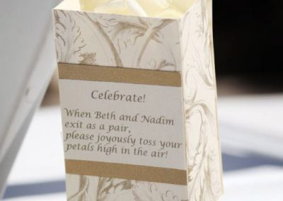 Banff Wedding Planner Florist Rose Petal Boxes Fairmont Banff Springs Wedding 0499e
