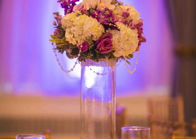 Calgary Banff Wedding Planner Fairmont Palliser Wedding Purple and Gold Creative Weddings Edward Ross Photography Calgary Bride 2374