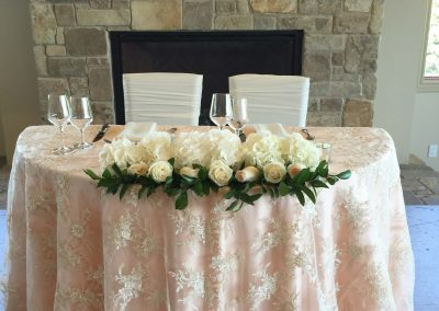 Calgary Wedding Planner Blush Sweetheart Table Blue Devil Golf Club Creative Weddings 7680