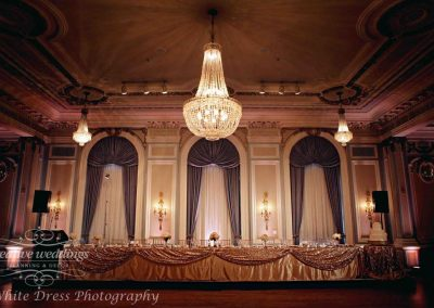 Calgary Wedding Planner Fairmont Palliser Wedding Gold Blush Wedding Creative Weddings White Dress Photography Calgary Bride blrec3