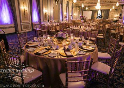 Calgary Wedding Planner Fairmont Palliser Wedding in gold and purple Edward Ross Photography Calgary Bride Calgary Wedding 2425