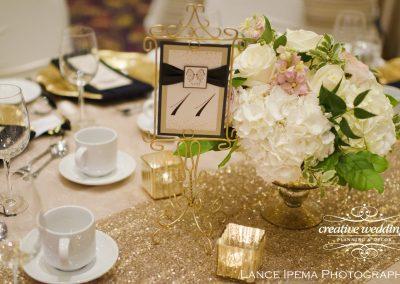 Calgary Wedding Planner Florist Creative Weddings Planning and Decor Floral Designs Deerfoot Inn Wedding Blush and Gold Wedding Lance Ipema 473