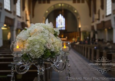 Calgary Wedding Planner Florist Creative Weddings Planning and Decor St Marys Cathedral Flowers Edward Ross Photography 1146