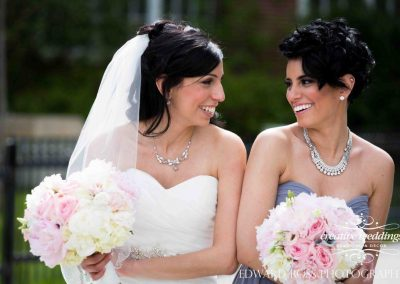 Calgary Wedding Planner Florist Fairmont Palliser Wedding Edward Ross Calgary Bride Sisters 1719