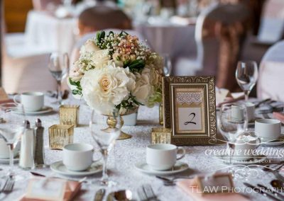 Lake Louise Banff Wedding Planner Florist Chateau Lake Louise Wedding Creative Weddings Planning Decor Banff Bride Blush Wedding TLAW 447a