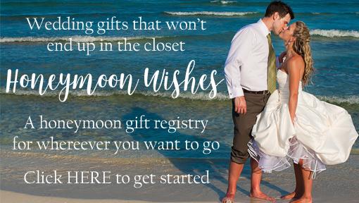 Honeymoon Wishes Creative Weddings Honeymoon Registry