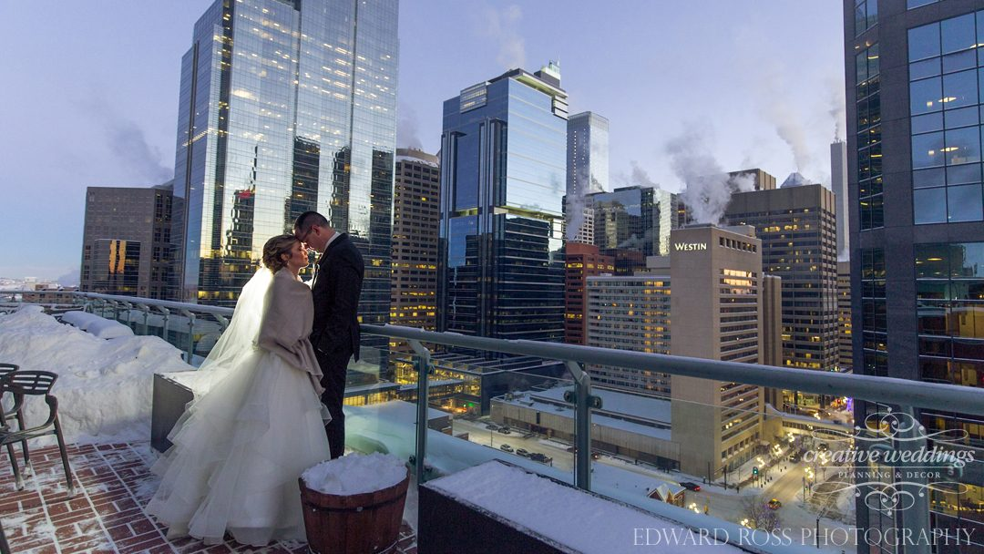 Real Wedding Becca and Ryan Wedding Highlight Reel, Creative Weddings Planning & Design, Rory Siddall Videography, Edward Ross Photography, Sheraton Suites Eau Claire, Winter Wedding, Calgary Wedding, New Year's Eve Wedding
