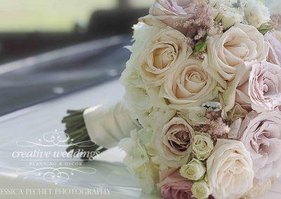 Calgary Wedding Florist Pinebrook Golf Wedding Calgary Bride Blush Pink Bouquet 15