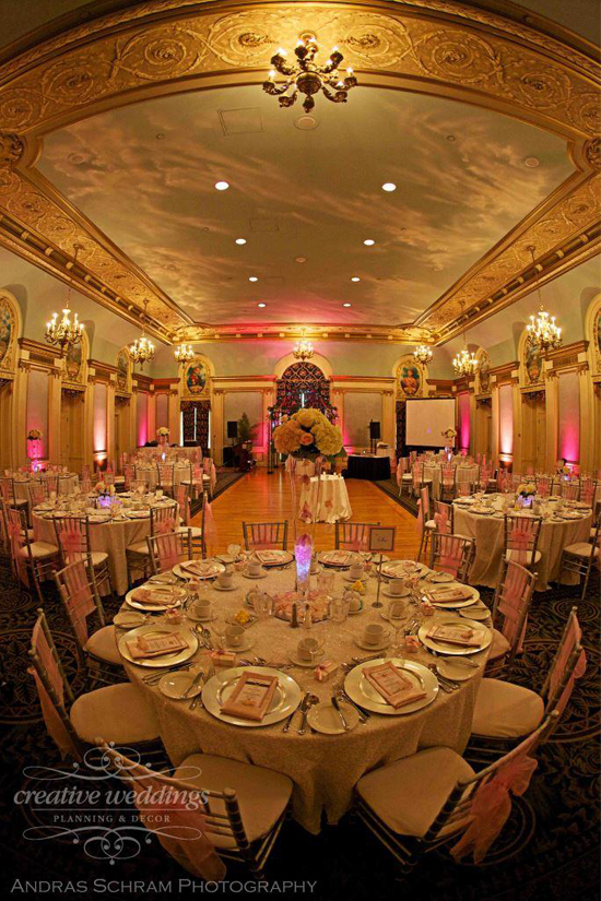 Calgary Best Wedding Venue Fairmont Palliser Wedding Calgary Wedding Planner Creative Weddings Planning and Design Wedding Photos Top Wedding Planner Calgary Wedding Venue Alberta Room Pink Wedding Luxury Wedding