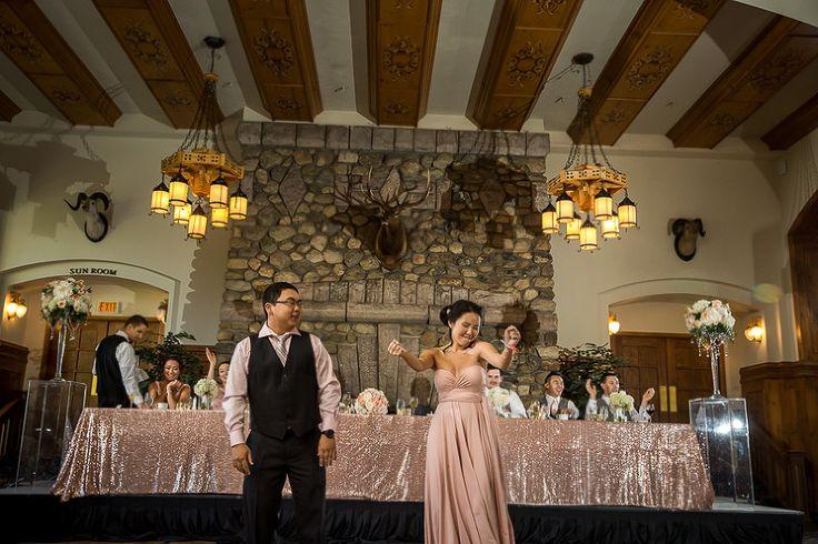 Wedding Reception Kissing Game