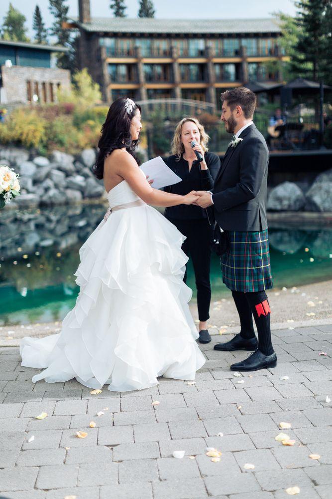 Azuridge Wedding, Creative Weddings Planning & Design, Calgary Wedding Planner, Event Wedding, Fall Wedding, Wedding Planner in Calgary, Azuridge Outdoor Wedding Ceremony