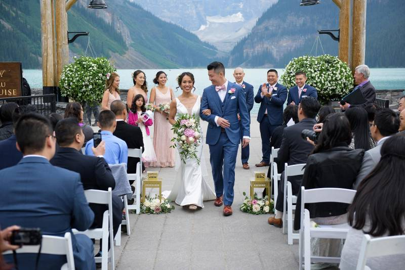Real Wedding Video: Eva & Sammy's Wedding Day at Fairmont Chateau Lake Louise
