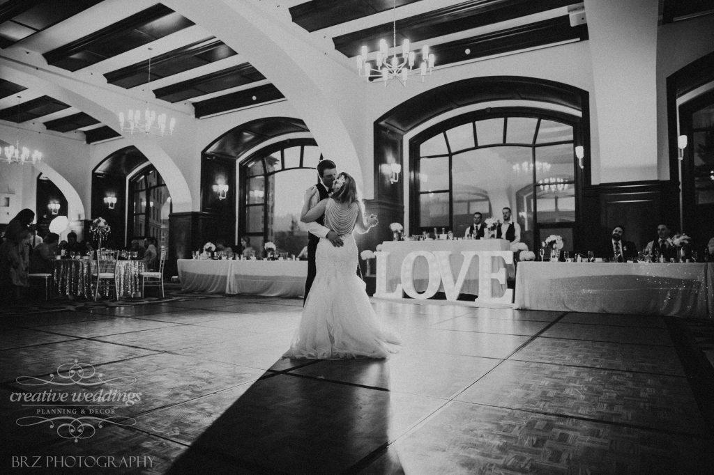 First Dance, Wedding Reception, Lake Louise Wedding, Creative Weddings Planning & Design