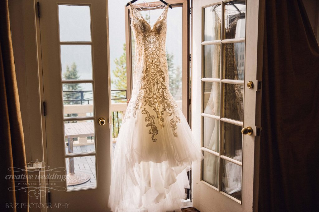 Allure Couture Bridal Gown at Chateau Lake Louise